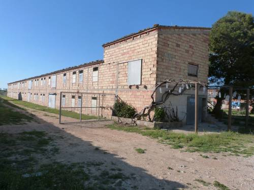 Torrecilla de Alcañiz  - Two chicken barns